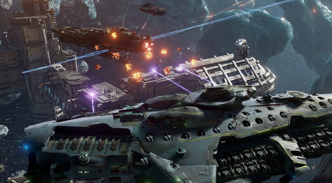 Neuer Trailer zu den Sci-Fi-Schlachten von Dreadnought auf PS4 – heute startet die offene Beta