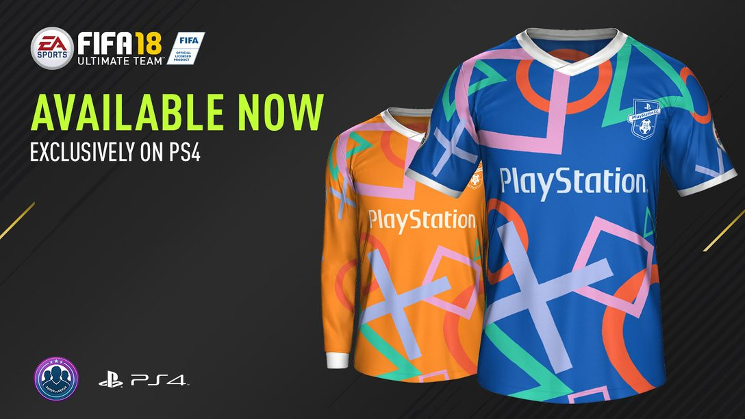 Neues PlayStation F.C.-Trikot für FIFA Ultimate Team