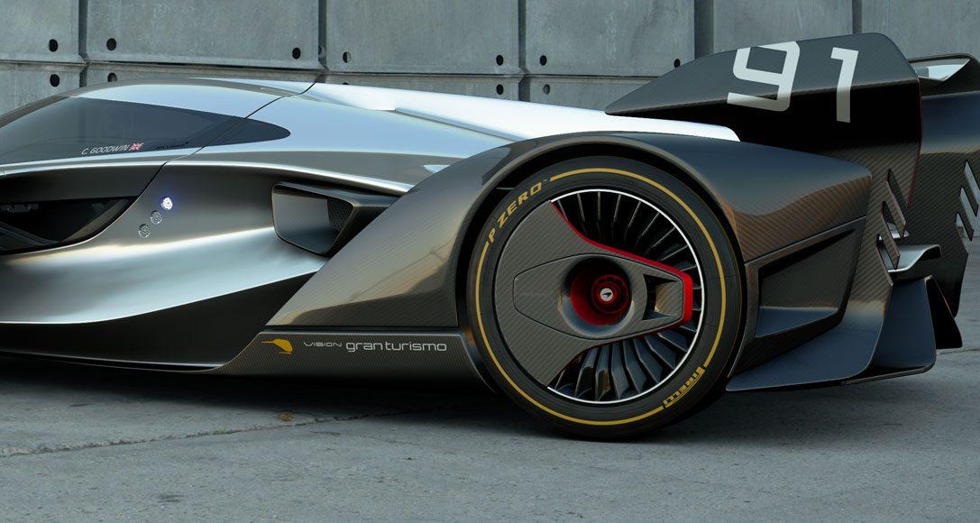 McLaren Automotiv entwirft den Rennwagen der Zukunft exklusiv für GT Sport