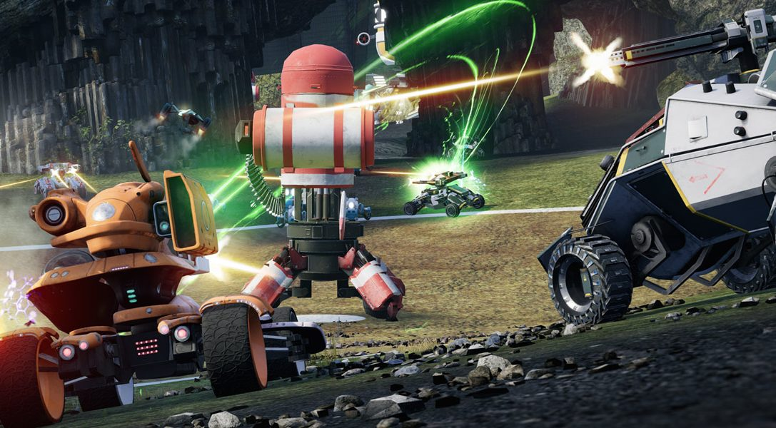 Die Veteranen von Blur und Geometry Wars melden sich mit dem Multiplayer-Fahrzeugkampf Switchblade für PS4 zurück