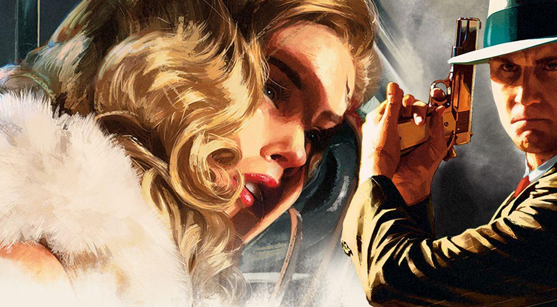 Rockstars Open-World Crime-Thriller LA Noire mordet ab November auf PS4