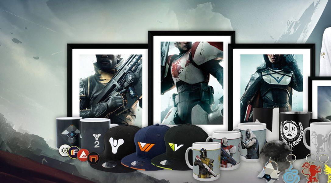 Wir stellen vor: Die Destiny 2 PlayStation Gear-Kollektion