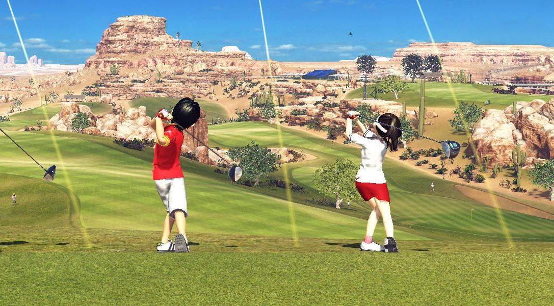 In Everybody's Golf macht ihr Urlaub von anderen Videospielen