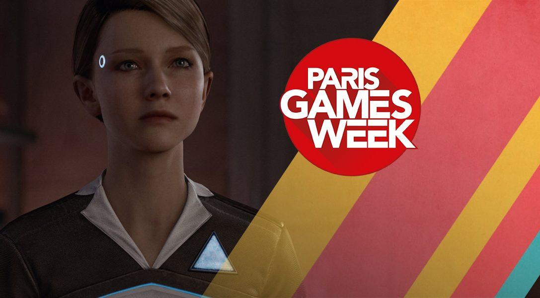 Quantic Dream schließen auf der Paris Games Week den Kreis mit einer Kara-Gameplay-Demo