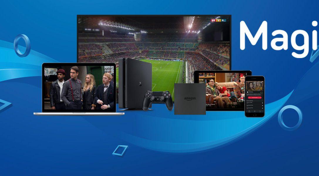 Magine TV – Fernsehen auf eurer PlayStation 4