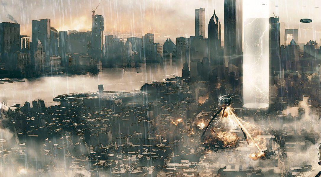 Ablaufgetreue Zerstörung in der heute erscheinenden PS4 Superhelden-Simulation Megaton Rainfall