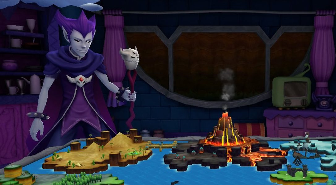 Im PSVR-Echtzeit-Strategiespiel No Heroes Allowed! VR zieht ihr Monster groß und erobert die Welt – ab heute erhältlich