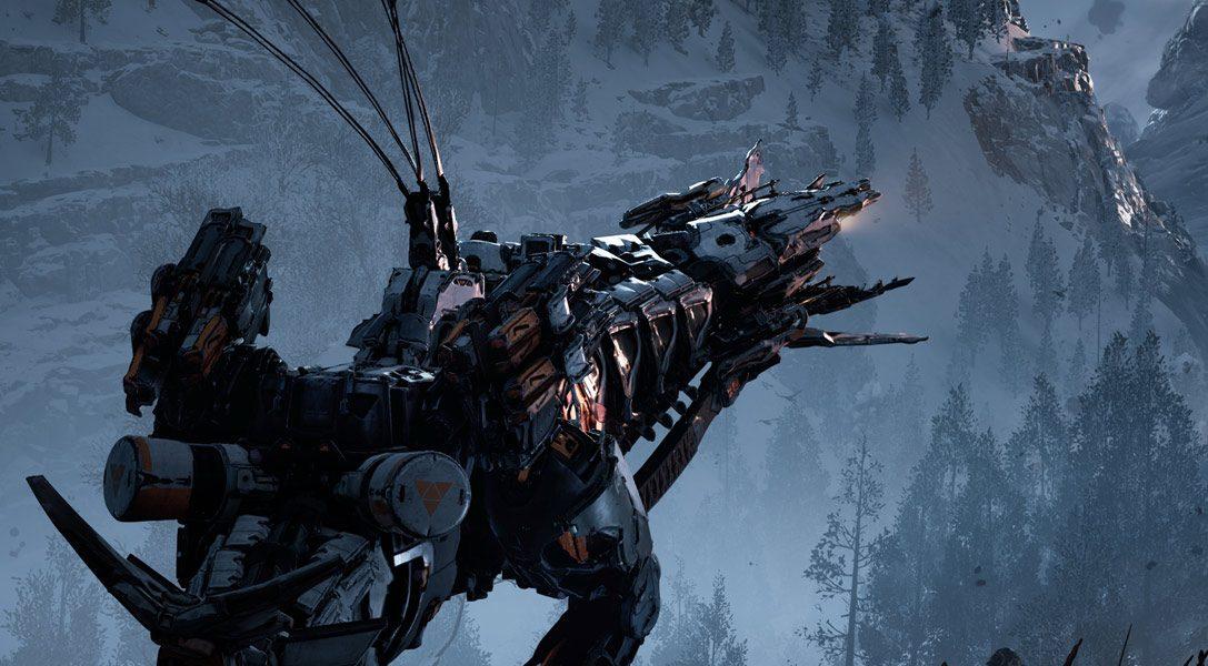 Seht euch den Spielwelt-Trailer von Horizon Zero Dawn: The Frozen Wilds an