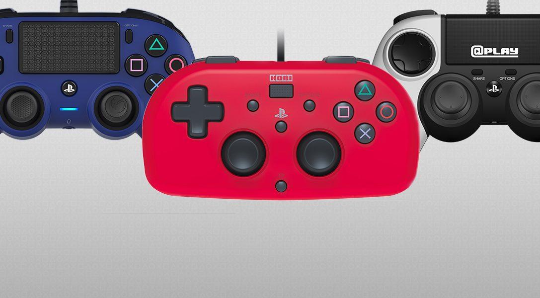 Erste Infos zu neuen, offiziell lizenzierten Compact Controllern und einem Mini-Gamepad für PS4