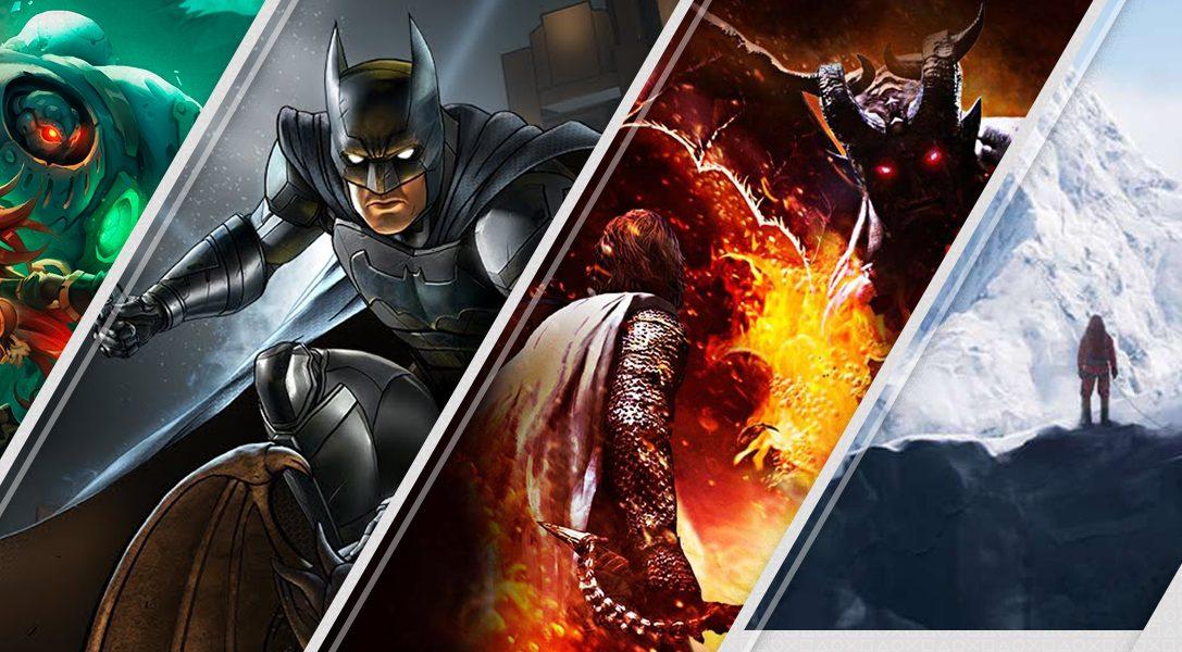 4 große Neuerscheinungen im PlayStation Store, die ihr euch diese Woche nicht entgehen lassen solltet