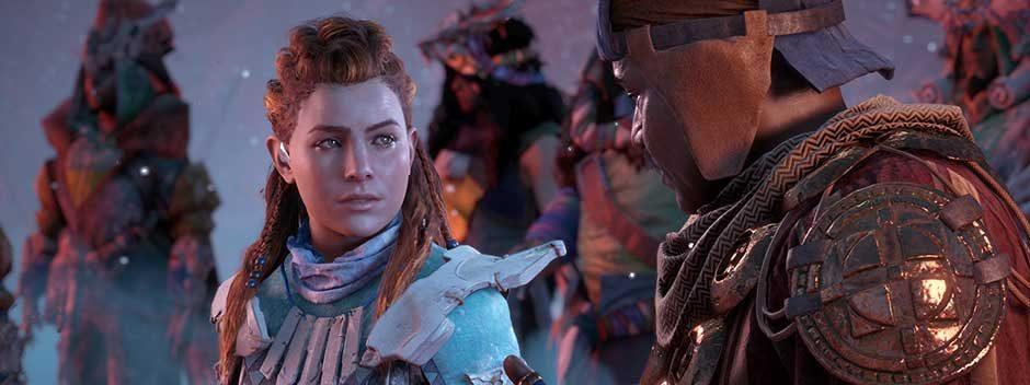 Schaut euch 12 Minuten Gameplay zu Horizon Zero Dawn: The Frozen Wilds an