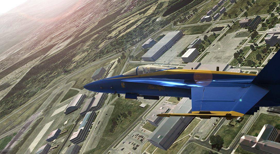 Wie ein Fan der Luftfahrt gemeinsam mit der US Navy Blue Angels Flight Simulator für PS4 entwickelte
