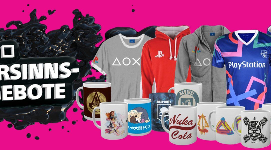 Die Sparsinns-Angebote bei PlayStation Gear starten heute