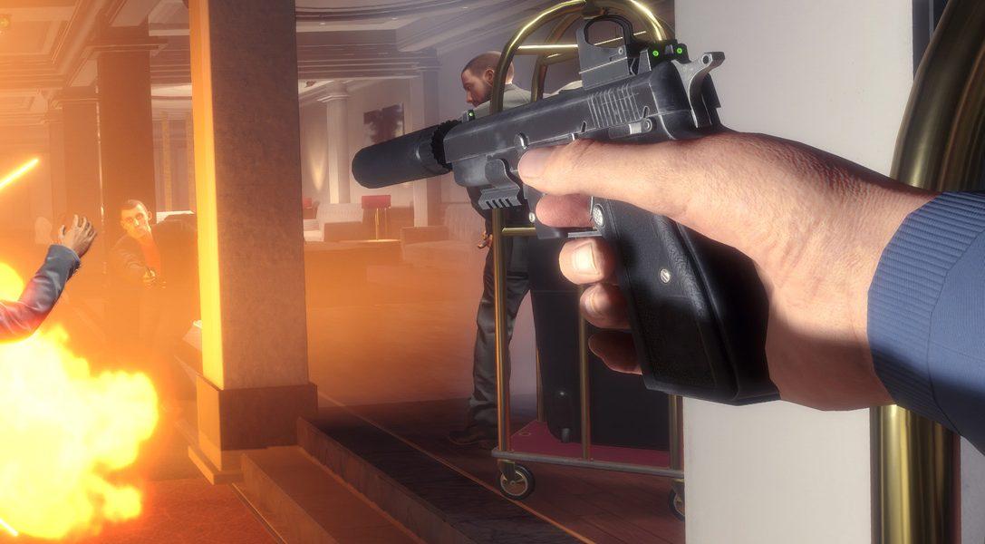 Wie der explosive PS VR-Action-Shooter Blood and Truth das Beste aus John Wick, James Bond und John McClane zusammenbringt