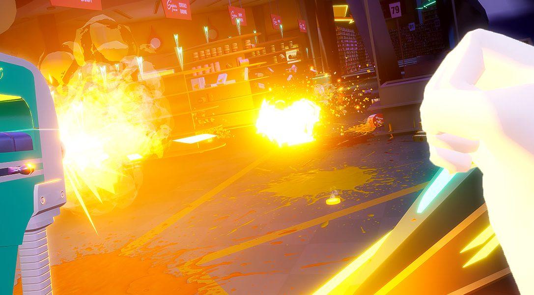 7 Dinge, die ihr über den verrückten PS VR-Shooter Shooty Fruity, der am 19. Dezember veröffentlicht wird, wissen solltet