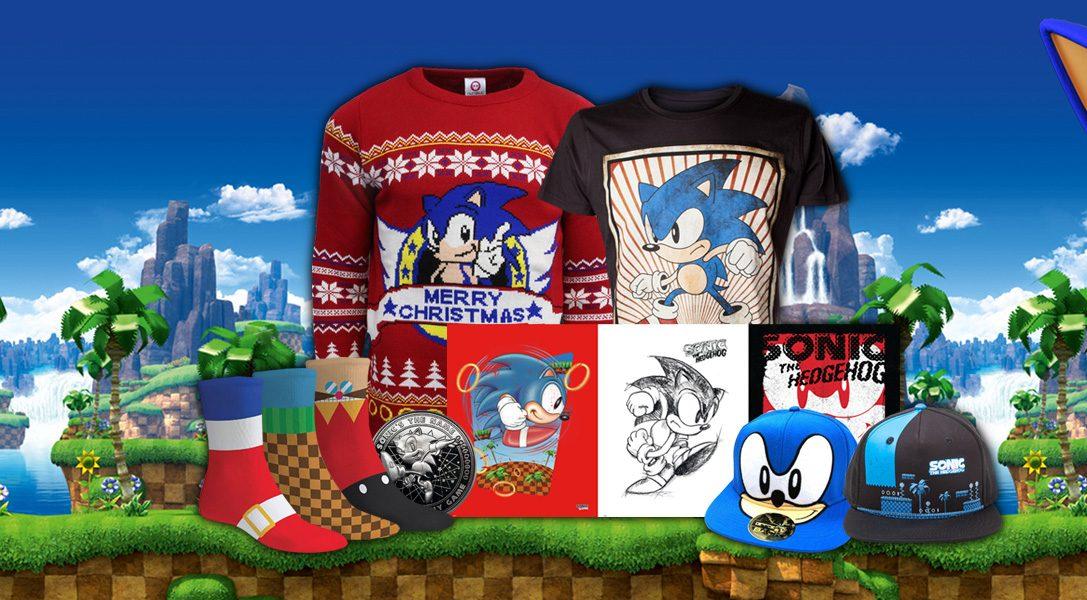 Neues Merchandise zu Sonic the Hedgehog sprintet auf PlayStation Gear