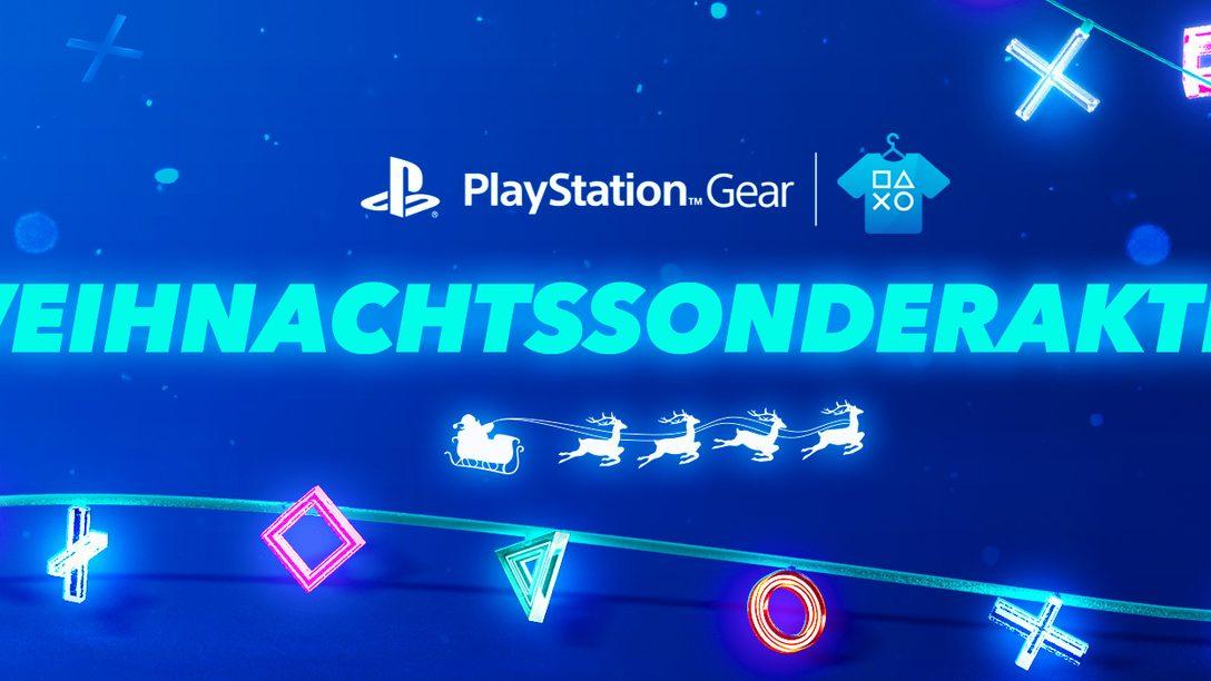 Die Weihnachtsangebote von PlayStation Gear sind da – spart bei PlayStation-Kleidung & Merchandise