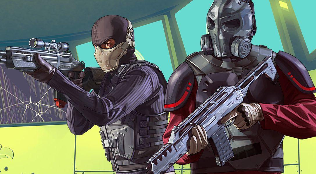 Grand Theft Auto Online: The Doomsday Heist ab heute auf PlayStation 4