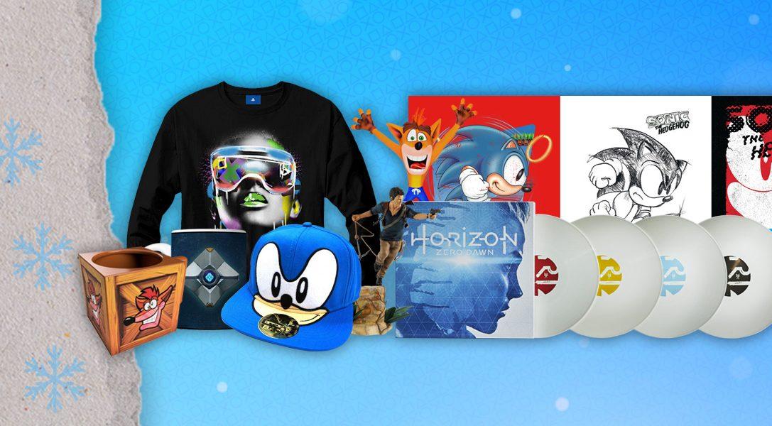 Das Angebot zum Zweiten Weihnachtstag von PlayStation Gear