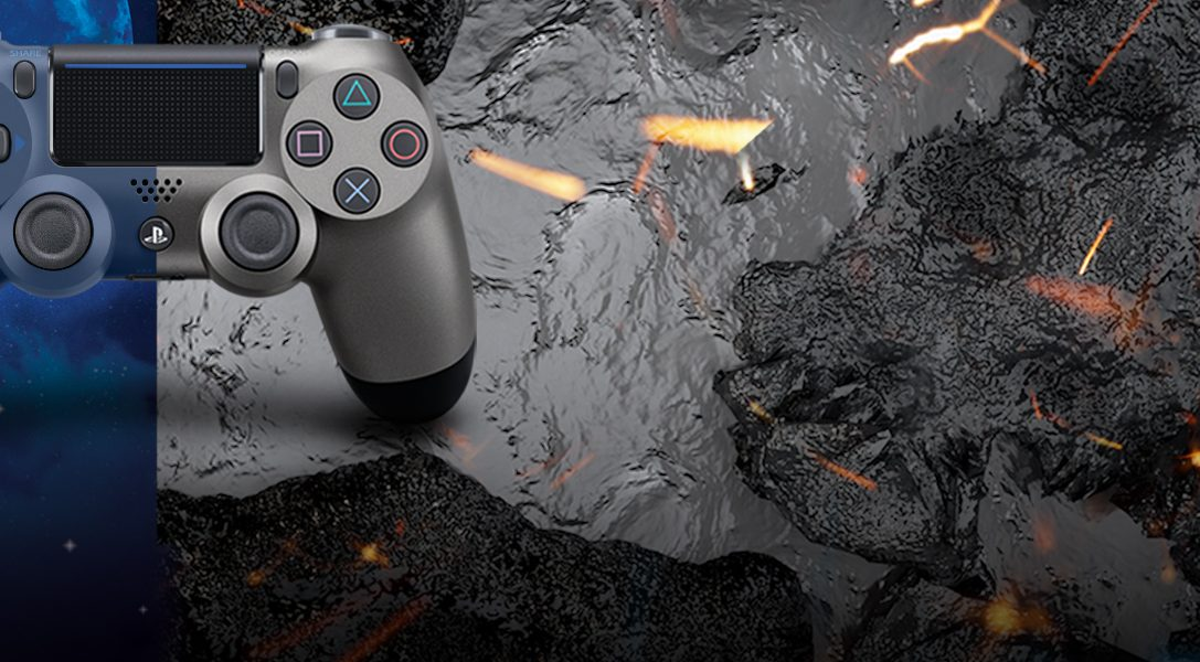 Wir stellen vor: die neuen Dualshock 4 Controller in Steel Black und Midnight Blue – ab März erhältlich