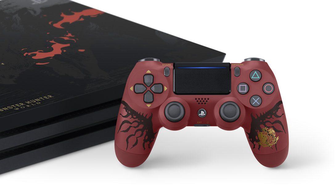 Das PlayStation 4 Pro-Paket zu Monster Hunter: World in limitierter Auflage [UPDATE]