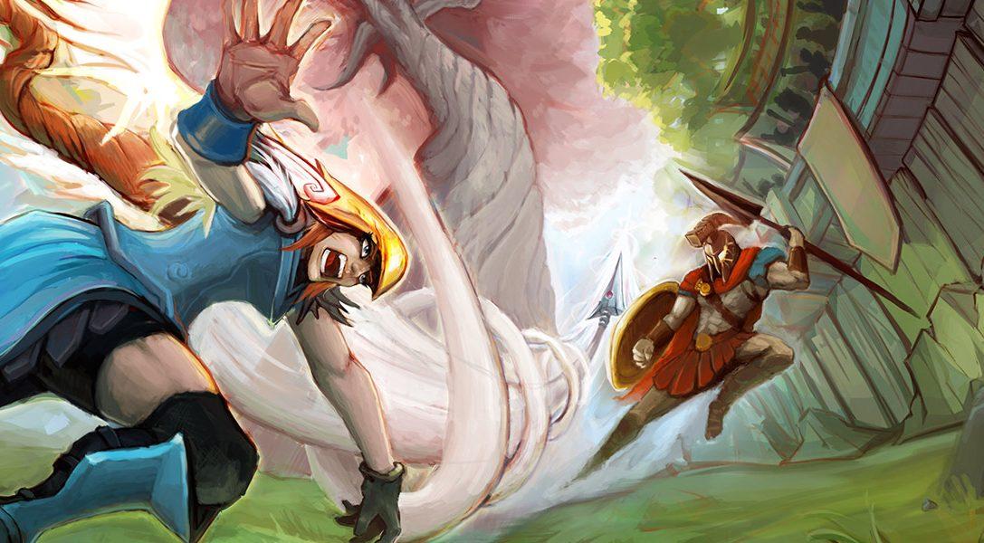 Im Fantasy-Multiplayer Strikers Edge für PS4 trifft Towerfall auf Völkerball – ab 31. Januar erhältlich