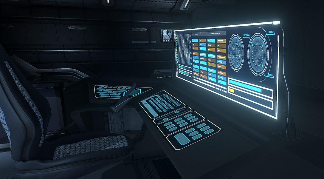 Enthüllt die Geheimnisse hinter einem verlassenen Forschungsschiff im Sci-Fi-Puzzler The Station für PS4
