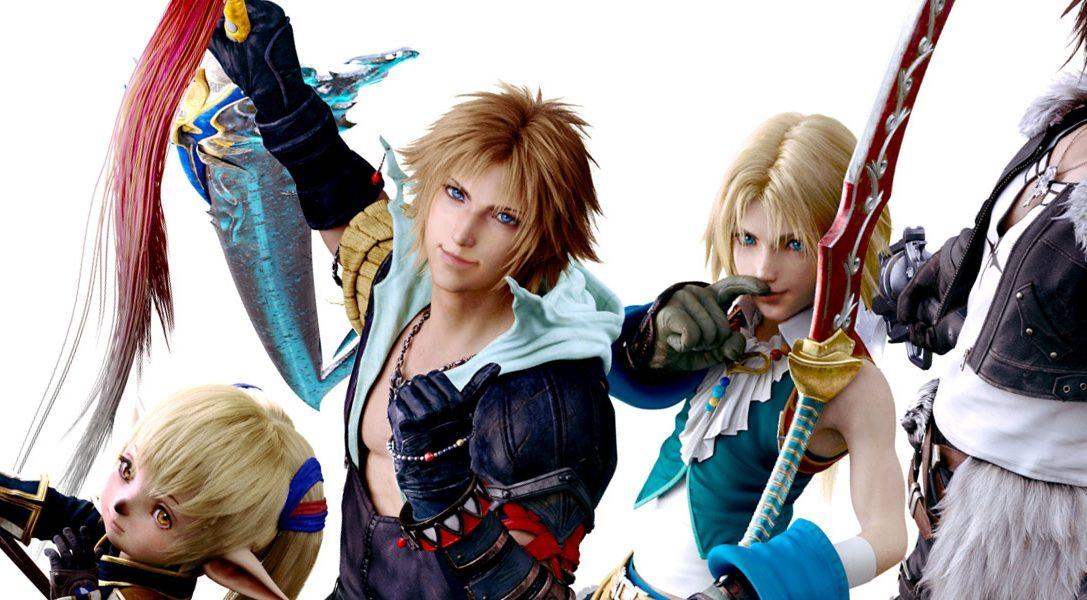 Dissidia Final Fantasy NT erscheint heute für PS4