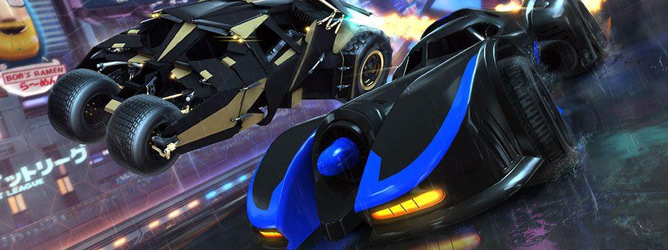Nächsten Monat brettern gleich zwei Batmobile in Rocket League durch die Arena