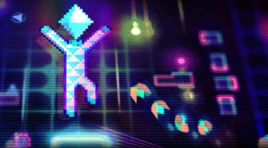 Der psychedelische, vertikale Plattformer Octahedron erscheint nächsten Monat für PS4