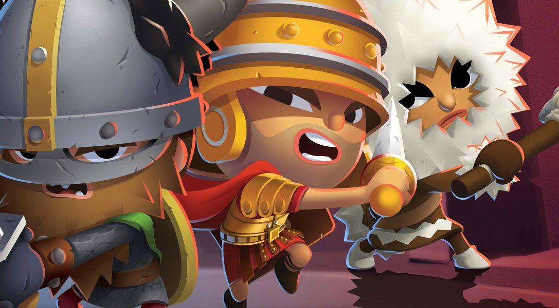Die Kriege des Multiplayer-Arena-Spiels World of Warriors finden ab März auch auf PS4 statt