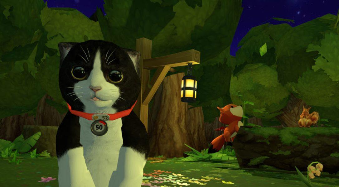 Im neuen PS VR-Titel Konrad the Kitten müsst ihr euch um eure virtuelle Katze kümmern – erhältlich ab 23. Februar