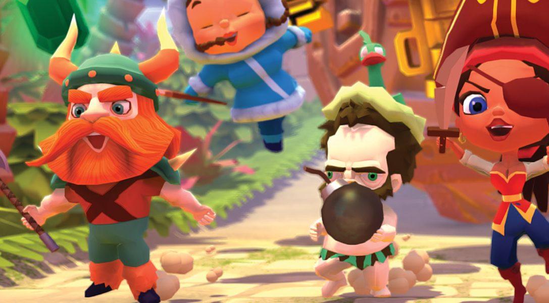 In Marooners trifft Minispiel-Party auf Arena Battler, ab heute auf PS4