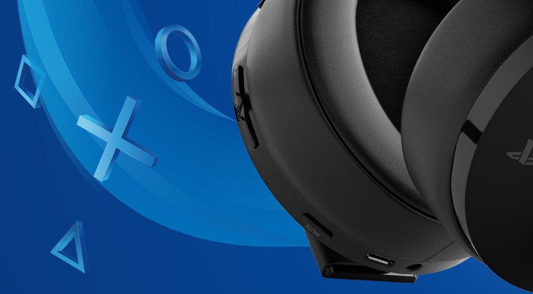 Das neue Wireless-Headset – Gold-Edition für PS4 und PS VR ist bald in Europa erhältlich