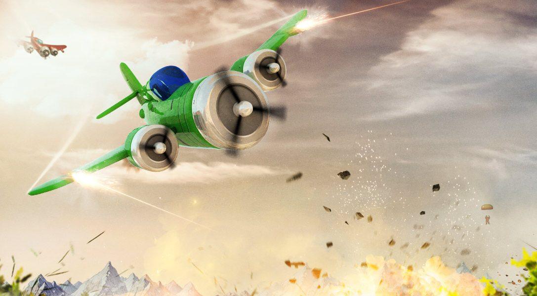 Der prozedural generierte  Luftkampfshooter Rogue Aces erscheint am 12. April für PS4 und PS Vita