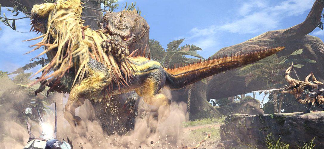 Stellt euch dem schrecklichen Deviljho in Monster Hunter: World's neuestem Update, ab jetzt verfügbar