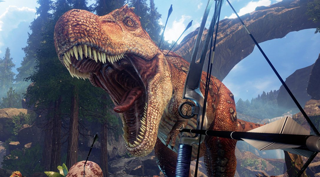 Züchtet im Ark: Survival Evolved-Spin-off Ark Park für PS VR eure eigenen Dinos und reitet sie