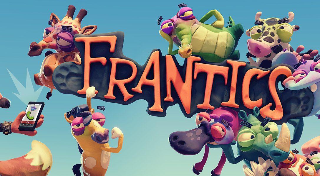 Fallt euren Freunden in den Rücken in PlayLinks urkomischem Mehrspielertitel Frantics, erhältlich ab 7. März