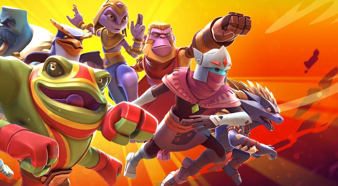 Wir stellen Brawlout vor – der Party-Fighter für PS4