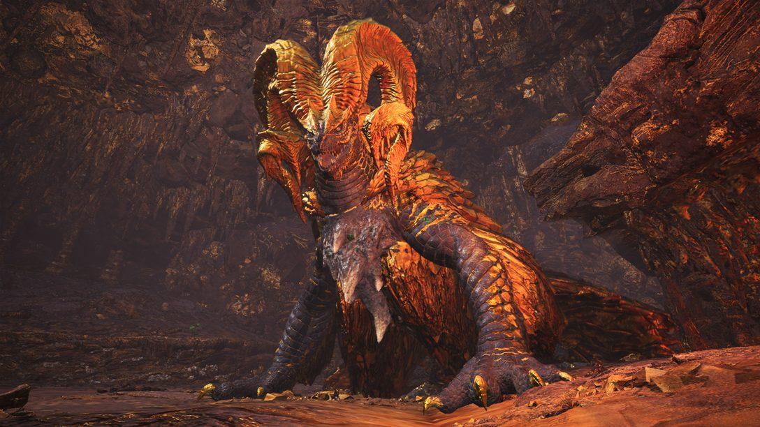 In Monster Hunter: World wartet ab heute der neue Elder Dragon auf euch