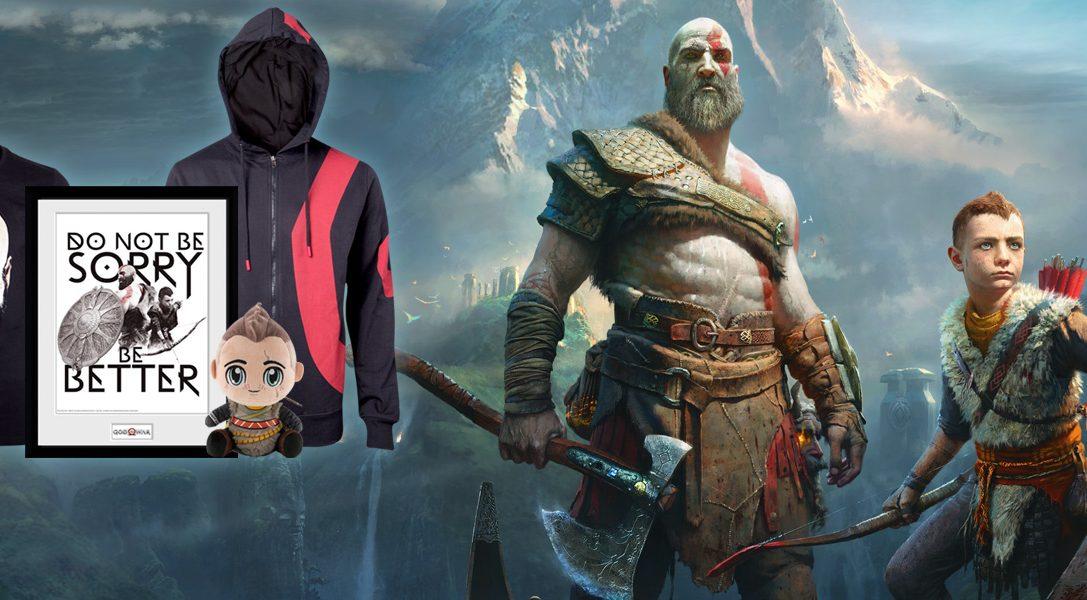 Neues Merchandisingsortiment zu God of War jetzt bei PlayStation Gear verfügbar