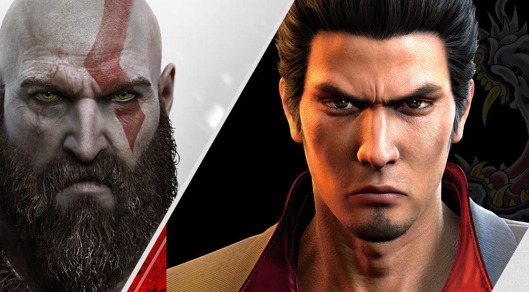 God of War und Yakuza 6 führen die neuen PlayStation Store-Veröffentlichungen an