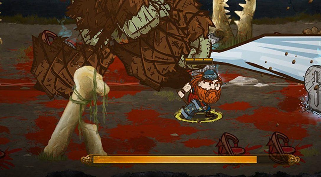 Im Action-Rollenspiel Die for Valhalla! könnt ihr Besitz von Wikingern, explosiven Fässern und vielem mehr ergreifen