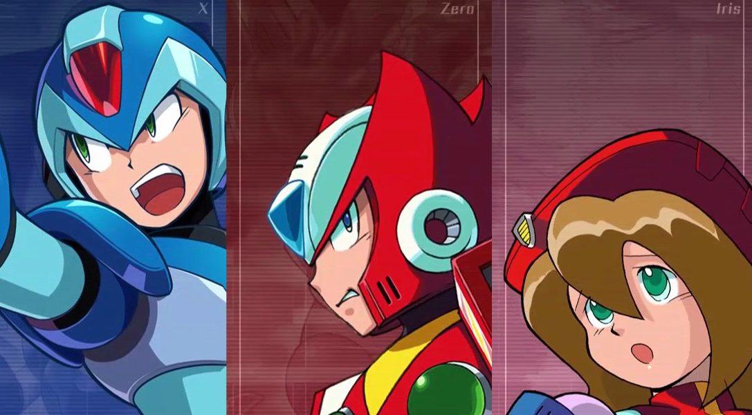 Mega Man X Legacy Collection 1 & 2 erscheinen am 24. Juli auf PS4