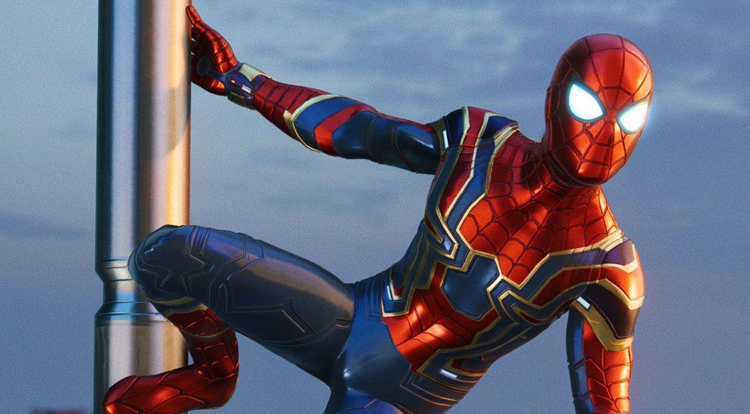 Iron Spider-Anzug inspiriert von Marvel's Avengers: Infinity War erscheint am 7. September für Marvel's Spider-Man