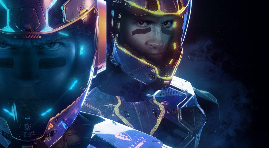 Laser League ist ein Hochgeschwindigkeits-Sci-Fi-Spiel im Multiplayer-Format von Roll7 und kommt nächsten Monat auf PS4