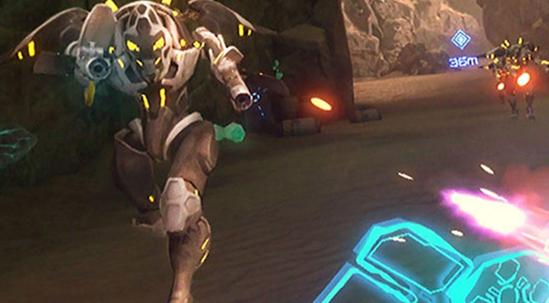 Wir stellen Evasion vor: Ein intensiver Sci-Fi-Shooter, der dieses Jahr auf PlayStation VR kommt
