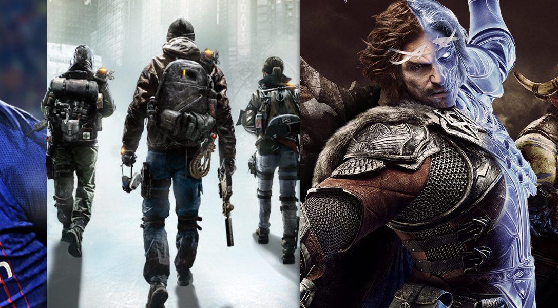 Spart ab heute bis zu 60% auf ausgewählte PS4 Spiele im PlayStation Store