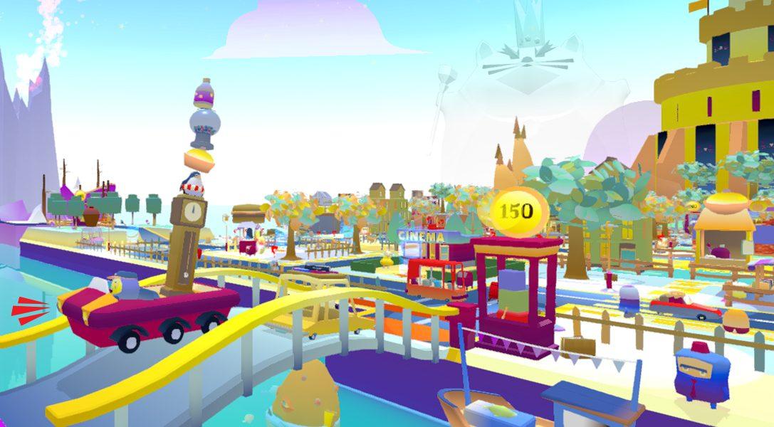 Stapelt hoch und navigiert durch den Verkehr im Arcade-Spiel Beep! Beep! Deliveries – ab Sommer für PS4