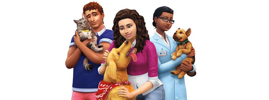 Passt Haustiere an und freundet euch mit den vierbeinigen Untoten an in der Erweiterung Die Sims 4 – Hunde & Katzen
